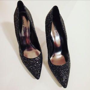 Nine West Tatiana Glitter Pumps Size 7.5M